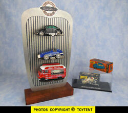 Schuco Micro Racers + Display Vw Beetle Mercedes Racer And Car Carrier Microbus