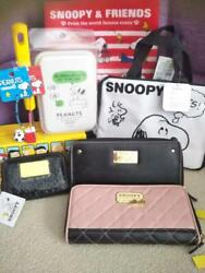 8 Snoopy Goods Long Wallet Lunch Equal Assortment Various