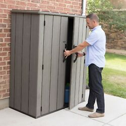 Lifetime Garden Storage Cabinet Waterproof Tool Shed Xl Size Fast Free Delivery