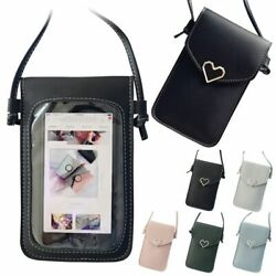 Cross body Touch Screen Cell Phone Wallet Shoulder Bag Leather Pouch Case US $7.69