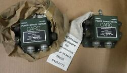 J-3741/g Ky-65 Bypass Switch Lot Of 2 Never Installed Condition Free Shipping