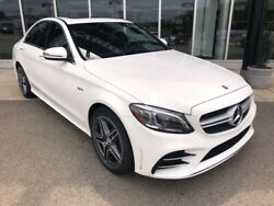 2020 Mercedes-Benz C-Class C 43 AMG® Polar White Mercedes-Benz C-Class with 10 Miles available now!
