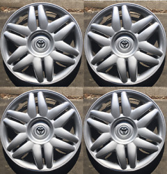 4 X 15 Inch Hubcaps Will Fit Your 2000-2001 Toyota Camry