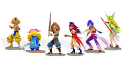 E-store Holy Sword Legend 3 Trials Of Mana Collector's Edition Figure Set Only