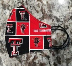 Texas Tech! Cotton Face Mask!  $8.00