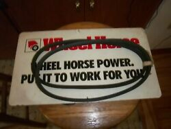 Wheel Horse 1580 Set Of Two Matched Belts Oem New Lawn Vacuum Snowthrower