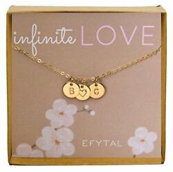 Efytal Valentines Day Gift For Girlfriend/wife Cute And Romantic Gold Filled ...