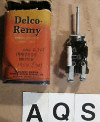 Oe 1950 Buick Instument Panel Lamps Switch Gm Part 1997855