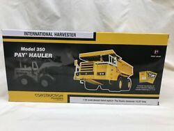 1/25 Scale International Ih 350 Pay Hauler Diecast Model By First Gear New