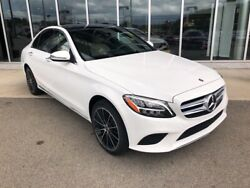 2020 Mercedes-Benz C-Class C 300 Polar White Mercedes-Benz C-Class with 10 Miles available now!