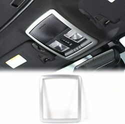 Reading Light Decoration Trim Accessories For Dodge Challenger 2010 Up Silver