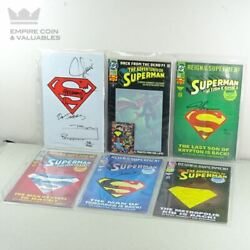 Limited Edition Signed Comic Book Superman Back From The Dead 406/10000 W2c