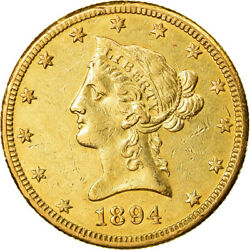 [881474] Coin United States Coronet Head 10 1894 New Orleans Au50-53