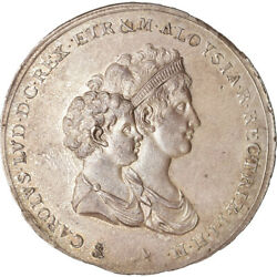 [489481] Coin Italian States Tuscany Charles Louis 5 Lire 1803 Florence
