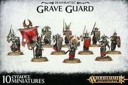 Warhammer Age Of Sigmar Deathrattle Grave Guard 91-11