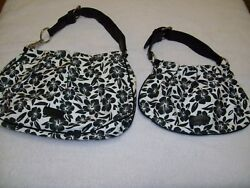 PRE OWNED MOTHER AND DAUGHTER GIANNI BINI HOBO PURSES SAME DESIGN $8.50