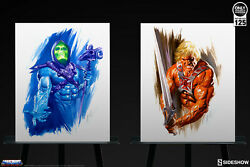 Sideshow Collectible 34/125 He-man And Skeletor Art Print By Alex Ross Art New