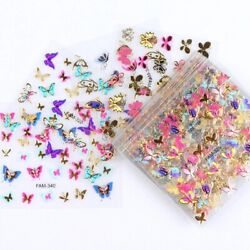 Nail Stickers Art 30 Styles 3 Sheet LOT stickers FREE SHIPPING US SELLER
