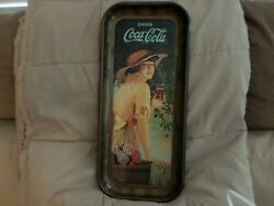 1973 Coca Cola Reproduction Of Early Teen Trays    3 Trays In Original Box