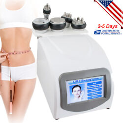 5in1 40k Cavitation Multipolar Rf Body Slimming Machine Fat Cellulite Removal Ce