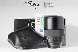New In Box Carl Zeiss Mirotar T 500mm F8 - Contax Yashica Made In Japan