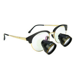 Ttl Dental Loupe Binocular 2.5x Magnifying Glass Surgical Loupe With Metal Frame