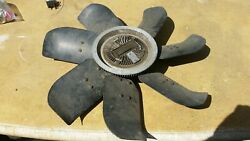 Lincoln Mercury Ford 460 V8 Engine Oem Fan And Clutch C8le-a Extremely Low Use