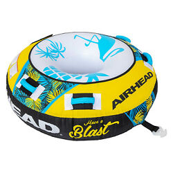 Airhead Ahbl-12 Blast Towable Tube 1 Person Inflatable Water Boat Toy
