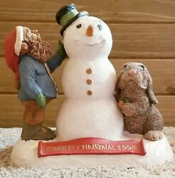 Retired Tom Clark Tim Wolfe Gnome Cairn Christmas 1998 6347 Edition 54 Vintage