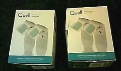 Quell Wearable Pain Relief Therapy 8 Replacement Electrodes 4 Boxes Brand New