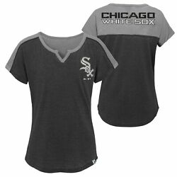 MLB Youth Girl Chicago White Sox Ballpark Best Color Block Dolman Sleeve T-Shirt $12.50