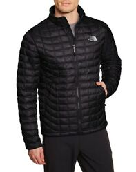 The Mens Thermoball Full Zip Jacket Black