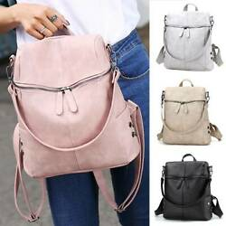 Womens Backpack Anti Theft Rucksack School Travel Shoulder Bags Satchel Handbag $18.42