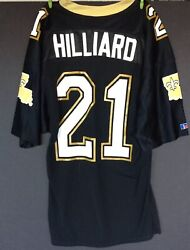 Dalton Hilliard Vintage New Orleans Saints Jersey Made In Usa Russell 44 Nfl Lsu