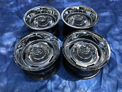 1969-82 Corvette Az 15x8 Oem Rally Wheel Mismatch Dates Set Of 4 Restored