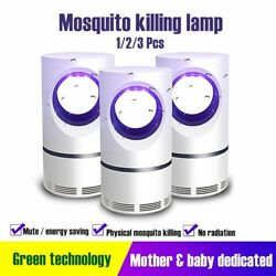 Electric Mosquito Insect Killer Usb Uv Led Lamp Zapper Fly Bug Trap Pest Control