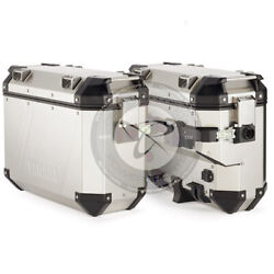 New 2021 Genuine Oem Yamaha Tenere 700 Silver Aluminum Left And Right Side Cases