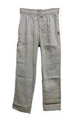 BRAND NEW DICKIES MENS CHECKERED CHEF PANTS   $10.99