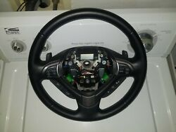 20011 2012 13 14 Acura Tsx Steering Wheel W/ Paddle Shifters Oem Mind Condition
