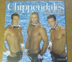 Chippendales 2005 Calendar Vintage Male Strippers Shirtless Hunks Charles Dera