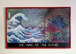 The Wave Of The Future Vintage Computer Ad Poster 1982 Nokes Berry Graphics