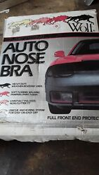 2303 Wolf Custom Series Auto Nose Bra 7810 Suzuki Swift 89 -91 With Logo