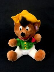 Speedy Gonzales Mexican Mouse Plush Vintage Warner Brothers Mighty Star 1971
