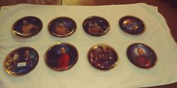The Star Trek 25th Anniversary Commemorative Collection Set Of 13 Plates