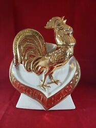 Decanter - 1970 J.a. Nugget Rooster Nugget Classic Ezra Brooks