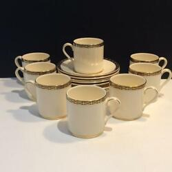 8 Minton St James Demitasse Cup And Saucer Sets Ch5693