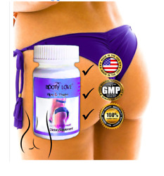 Get Thick Breast Butt Thighs Hips Weight Gain Enlarger 60 Pills Capsules