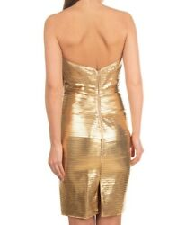 Authentic Dsquared Corset Wiggle Dress S73ct0696 Tag.m