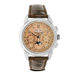 Patek Philippe Grand Complications Platinum Perpetual Salmon Dial 41MM Watch