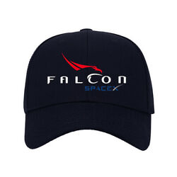 Hot New Hat SpaceX Falcon Logo Printed Baseball Cap One Size Fits All Adjustable $9.99